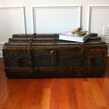 vintage trunk coffee table old trunk coffee tables houzz rustic trunk coffee table afla