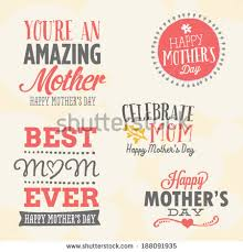 to the best mom happy mother s day card birthday mothers day vector set 5 unique stock vector 188091935 shutterstock