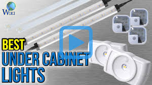 under cabinet lighting without wiring top 10 under cabinet lights of 2017 video review