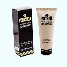 ads white invisible foundation new complexion one step makeup 60