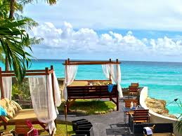 welcome to beach one restaurant in the st lawrence gap barbados