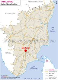 Kerala India Map by Madurai Location Map Where Is Madurai