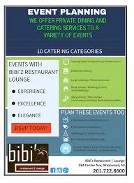 bibi u0027z restaurant lounge 8 steps for successful event planning