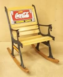 Coca Cola Chairs Coca Cola Rocking Chair 36in X 34in X 24in 78 59cc Ad