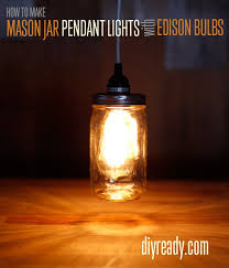 Glass Jar Pendant Light Vintage Pendant Lighting Diy Projects Craft Ideas U0026 How To U0027s For