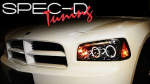how much is a 2006 dodge charger specdtuning installation 2006 2010 dodge charger projector