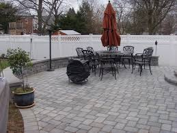 Paver Patio Nj Backyard With Pavers Garden Design