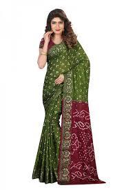 saree printed saree georgette saree floral print saree casual wear