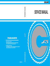 daelim s3 125cc service manual eng motor oil