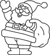 coloring page santa printable free to print home free santa claus