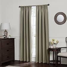Insulated Window Curtains Emery Rod Pocket Insulated Total Blackout Window Curtain Panel
