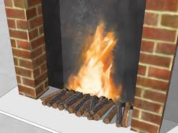 3 ways to make a fake fireplace wikihow