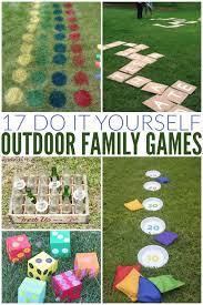 Diy Backyard Games For Adults Diy Family Games Do It Your Self