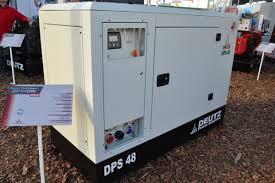deutz amplía la oferta con los generadores dps maquinac