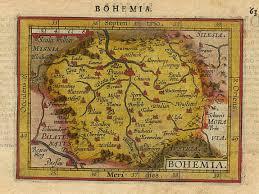 bohemia map ortelius bohemia