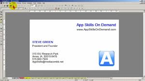 avery design pro lesson 14 use a template for quick basic