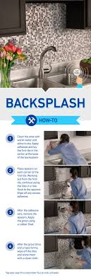 how to tile a backsplash in kitchen best 25 kitchen backsplash diy ideas on easy