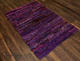 shaggy rugs 3x5 ft area rug soft shag multi color purple handwoven