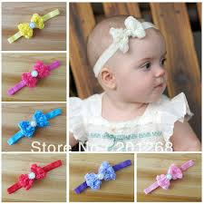 baby bow headbands free shipping 30pcs lot baby headbands with chiffon bows baby