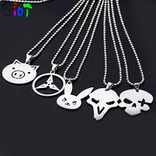 choker necklace charms images 5types game overwatch necklace stainless steel pendant new jewelry jpg