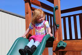 let the children play outside backyard fun factory
