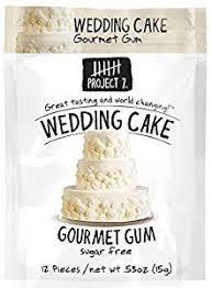 wedding cake gum project 7 sugar free gum wedding cake 12 pouches