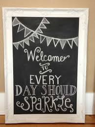 decorating decorative chalkboards in creative and interesting