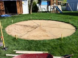 Backyard Sand Diy Fire Pit And Patio Craftfoxes