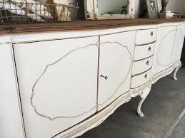 Antique Painted Sideboard Huge Antique Sideboard Makeover House Of Hargrove