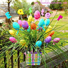 cool easter ideas 29 cool diy outdoor easter decorating ideas amazing diy