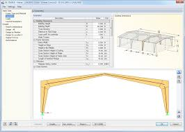 Free Timber Roof Truss Design Software by Rx Timber Frame Design Of Timber Frames Acc To Ec 5 Dlubal