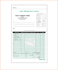 Invoice Template For Excel 2007 Free Blank Service Invoice Template Excel 20 Ptasso
