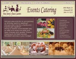 restaurant website design catering website design restaurant