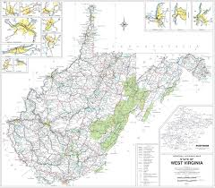 Usa Highway Map Reference Map Of Virginia Usa Nations Online Project Virginia