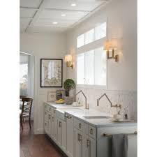 kohler karbon kitchen faucet kohler k 6228 c15 bv karbon vibrant brushed bronze wall mount
