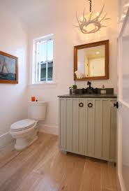 Horizontal Beadboard Bathroom Seaworthy Living Lido Isle Beach House Newport Beach