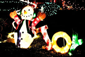 winter snowman decorations colorful