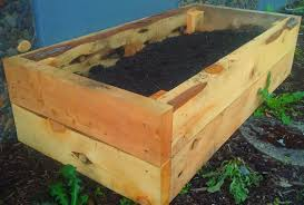 Raised Garden Bed With Bench Seating Juniper