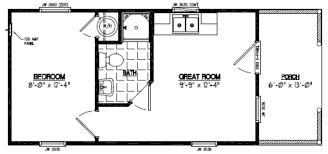 Rectangular Floor Plans by Certified Homes Settler Certified Home Floor Plans