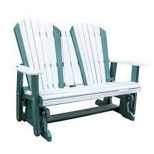Gliding Adirondack Chairs Amish Outdoor Polyvinyl Amish Furniture Shipshewana Furniture Co