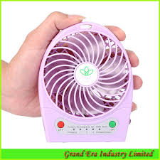 battery operated electric fan mini battery operated table fan usb charge dc fan powered by 18650