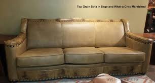what is top grain leather sofa sage top grain leather sofa made in the usa