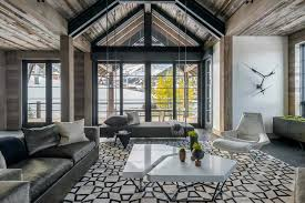 Ski Chalet Interior Hillside Snowcrest The Ultimate Modern Rustic Ski Chalet In