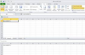 how to open two separate excel windows