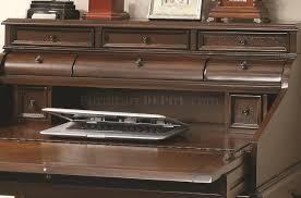 Secretary Desk Secretary Desk In Warm Brown By Coaster