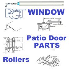 Patio Door Lock Parts Pgt Industries Patio Doors Entry Door Parts And Hardware