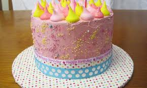 meringue drop dairy free birthday cake kidspot