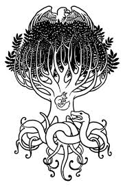 yggdrasil tattoo a cover up tattoo design for a client in u2026 flickr