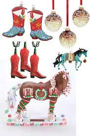 horse christmas ornaments u0026 decor horses u0026 heels