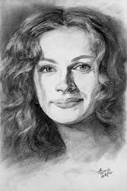cool pencil portrait drawing